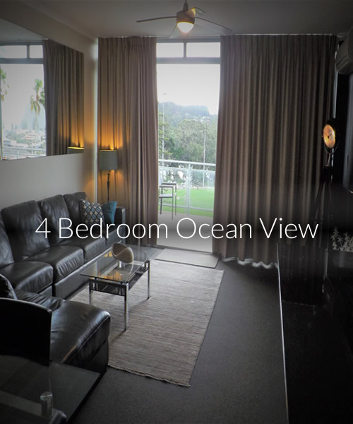 4 Bedroom Ocean View